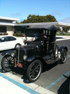 Model T Front View