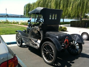 Model T Backview